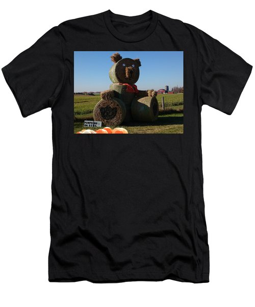 Men's T-Shirt (Athletic Fit) featuring the photograph Whistle Bear Harvest by Hanne Lore Koehler