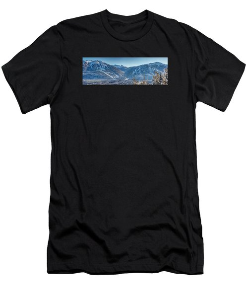 Whistler Blackcomb Ski Resort Men's T-Shirt (Athletic Fit)