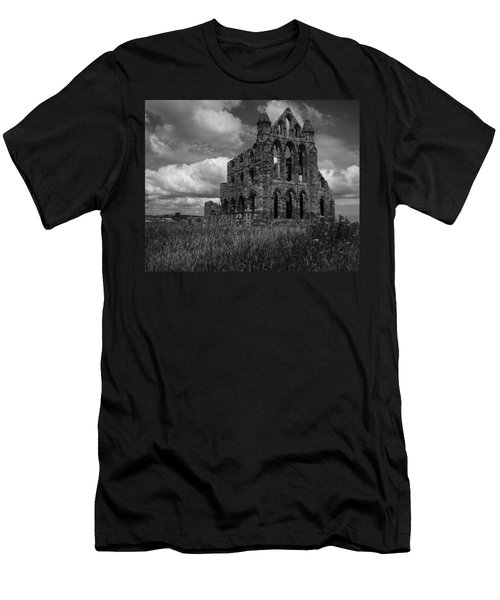 Whitby Abbey, North York Moors Men's T-Shirt (Athletic Fit)