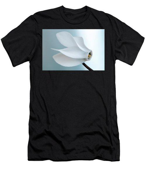White Cyclamen. Men's T-Shirt (Athletic Fit)