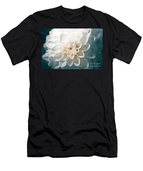White Dahlia Men's T-Shirt (Athletic Fit)