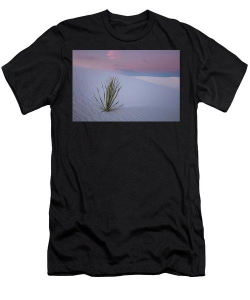 White Dunes Men's T-Shirt (Athletic Fit)