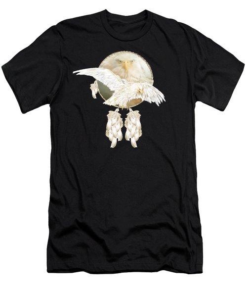 White Eagle Dreams Men's T-Shirt (Athletic Fit)