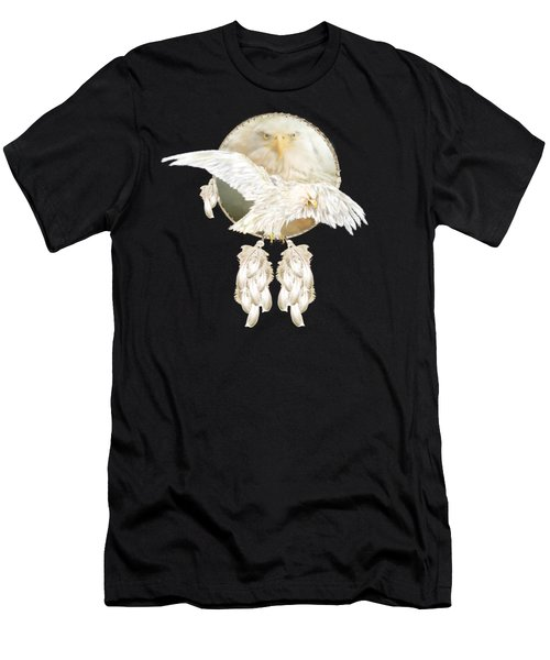White Eagle Dreams Men's T-Shirt (Athletic Fit)