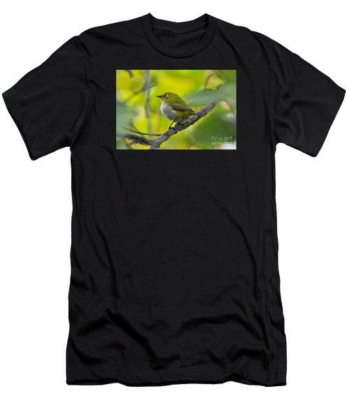 White Eye 1 Men's T-Shirt (Athletic Fit)