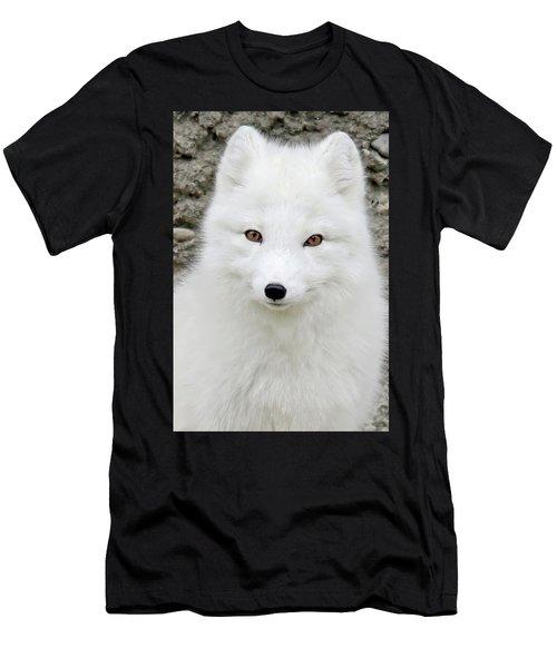 White Fox Men's T-Shirt (Athletic Fit)