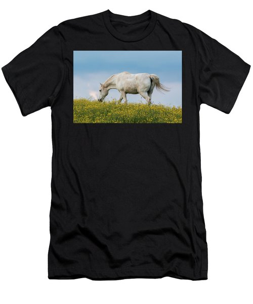 White Horse Of Cataloochee Ranch 2 - May 30 2017 Men's T-Shirt (Athletic Fit)