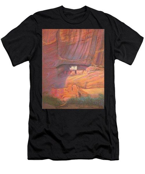 White House Rock  Home Of He Anasazi He Anasazi Men's T-Shirt (Athletic Fit)