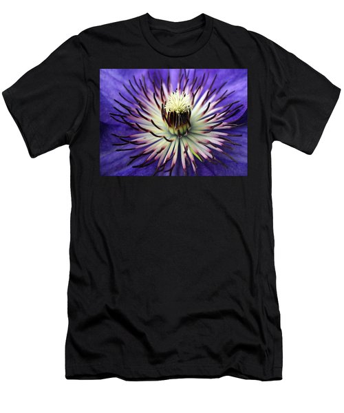 White-lilac Flower Men's T-Shirt (Athletic Fit)