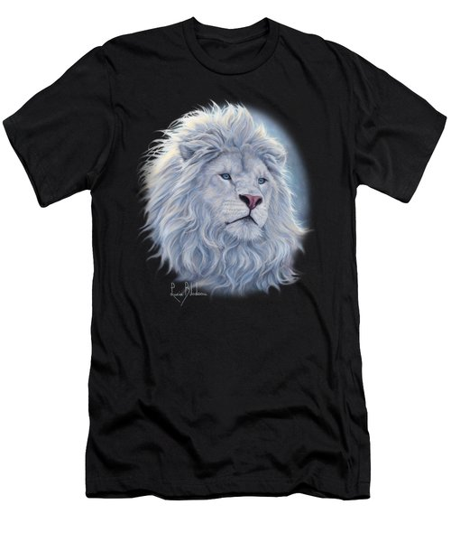 White Lion Men's T-Shirt (Athletic Fit)