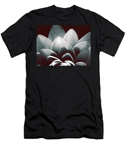 White Lotus At Dawn Men's T-Shirt (Athletic Fit)