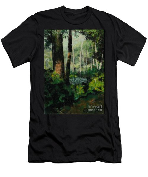 White Mountain Woods Men's T-Shirt (Athletic Fit)