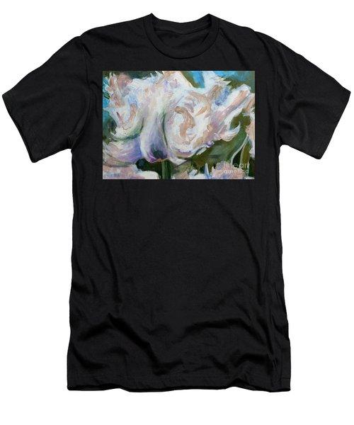 White Parrot Men's T-Shirt (Athletic Fit)