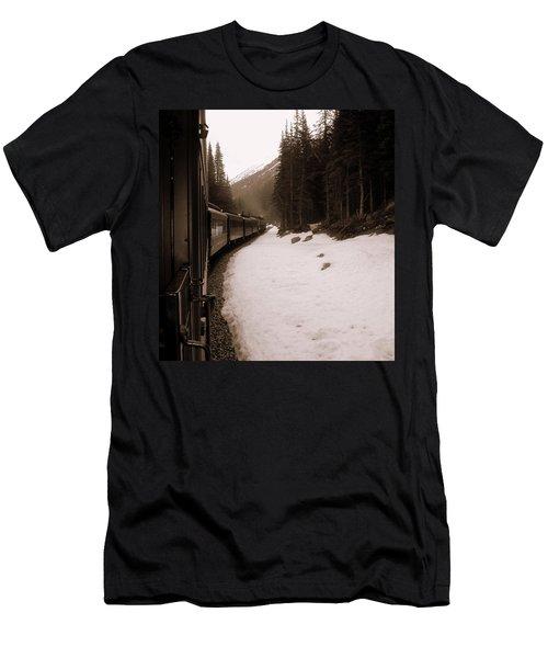 White Pass Railway Men's T-Shirt (Athletic Fit)