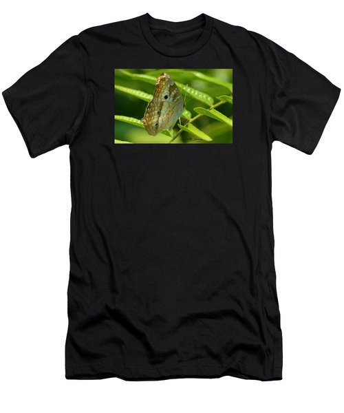 White Peacock Butterfly 2 Men's T-Shirt (Athletic Fit)