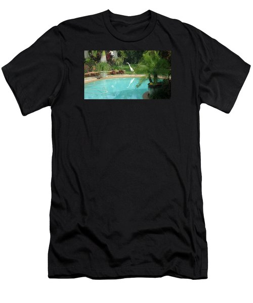 White Reflection Men's T-Shirt (Athletic Fit)