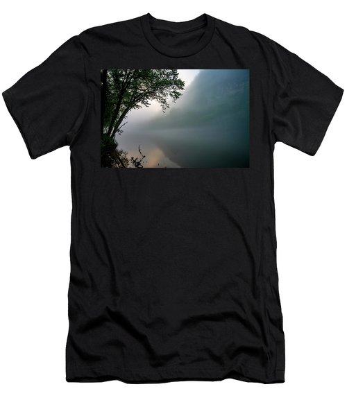 White River Morning Men's T-Shirt (Athletic Fit)