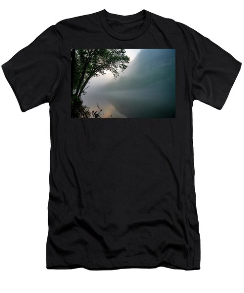 White River Morning Men's T-Shirt (Athletic Fit)