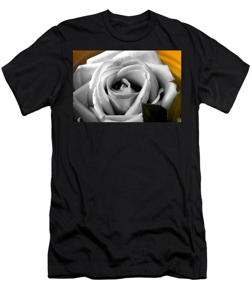 White Rose 2 Men's T-Shirt (Athletic Fit)