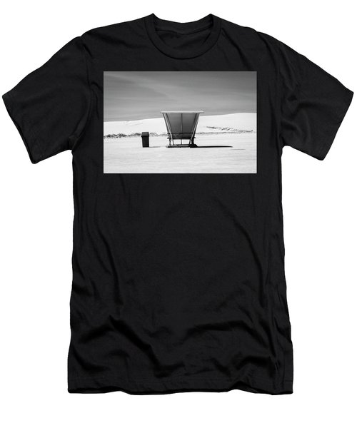 Men's T-Shirt (Athletic Fit) featuring the photograph White Sands National Monument #10 by Lou Novick