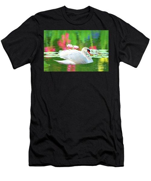 White Swan Men's T-Shirt (Athletic Fit)