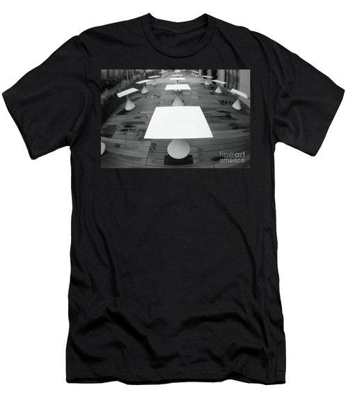 White Tables Men's T-Shirt (Athletic Fit)