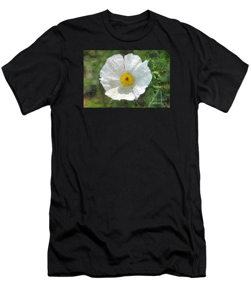 White Thistle Men's T-Shirt (Athletic Fit)