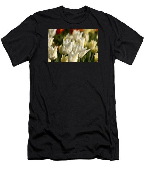 White Triumphator Men's T-Shirt (Athletic Fit)