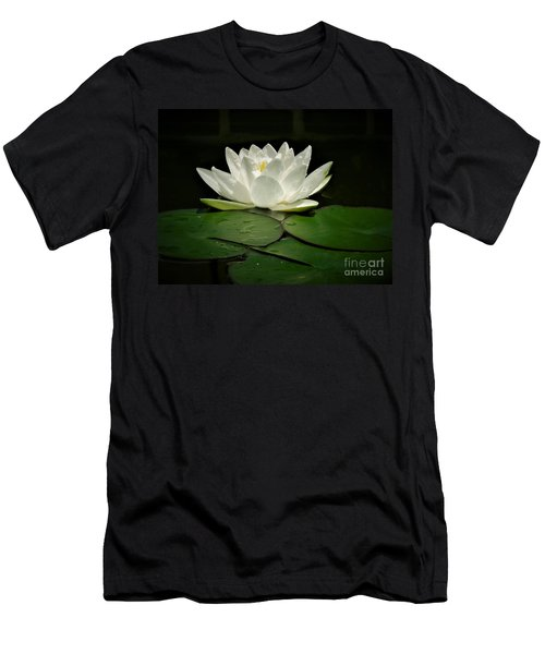 White Water Lily Men's T-Shirt (Athletic Fit)