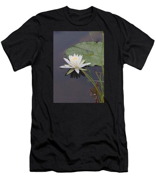 White Water Lotus Men's T-Shirt (Athletic Fit)