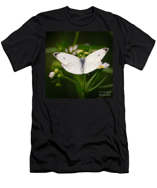 White Wings Of Wonder Men's T-Shirt (Athletic Fit)