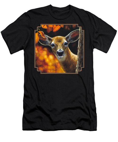 Whitetail Deer - Surprise Men's T-Shirt (Athletic Fit)