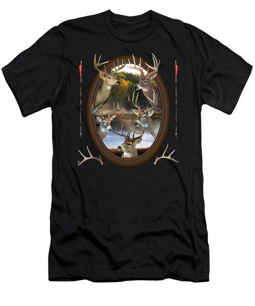 Whitetail Dreams Men's T-Shirt (Athletic Fit)