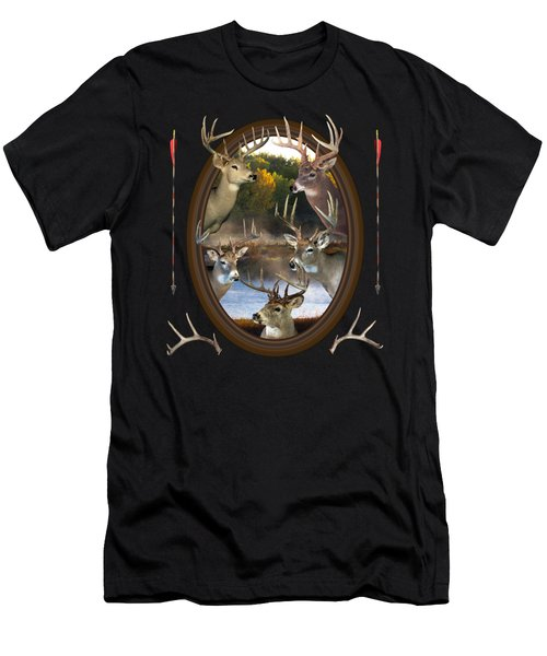 Whitetail Dreams Men's T-Shirt (Athletic Fit)