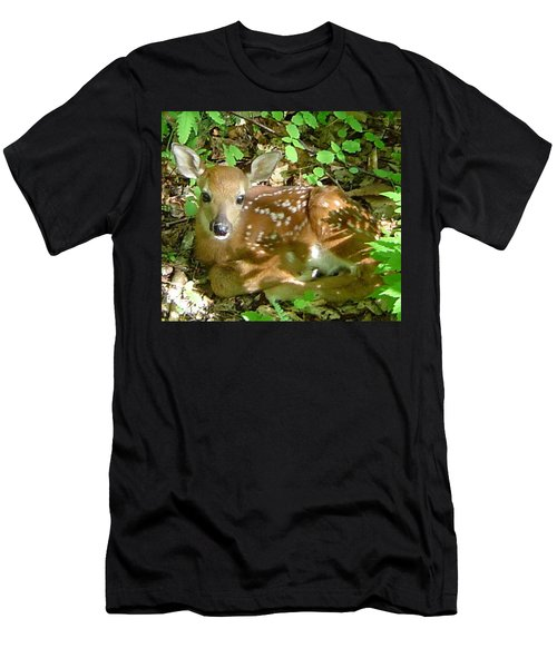 Whitetail Fawn II Men's T-Shirt (Athletic Fit)