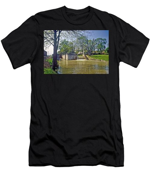 Whitewater Canal Metamora Indiana Men's T-Shirt (Athletic Fit)