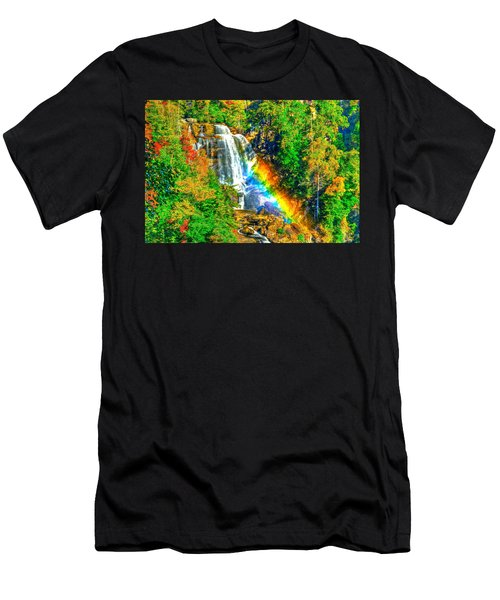 Whitewater Rainbow Men's T-Shirt (Athletic Fit)