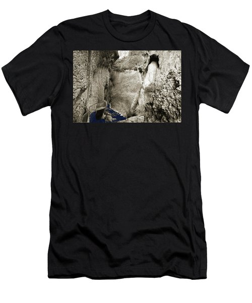 Whitewater Too Blu Men's T-Shirt (Athletic Fit)