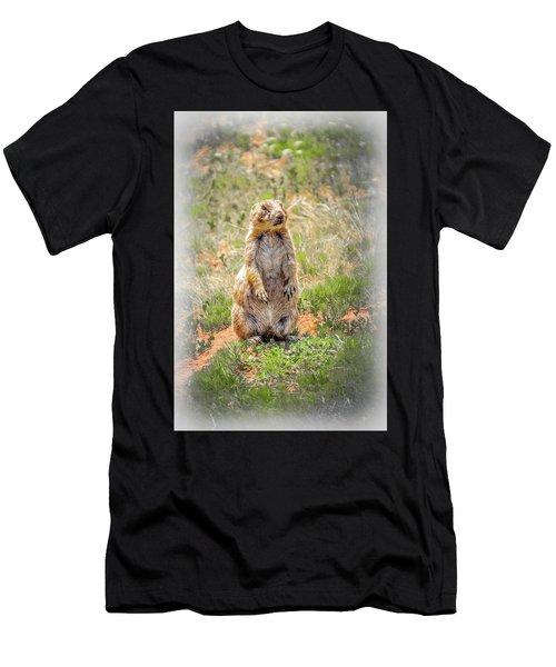 Who Dat? Men's T-Shirt (Athletic Fit)