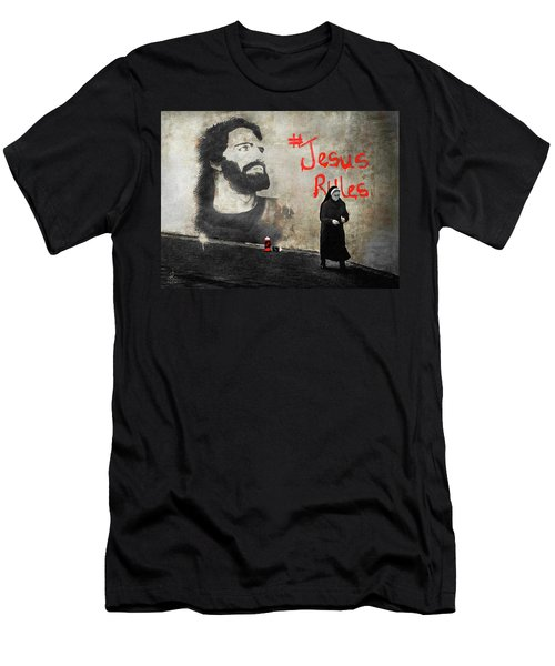Who Knew Men's T-Shirt (Athletic Fit)