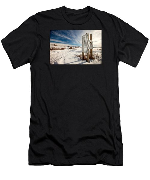 Who Lives Where Men's T-Shirt (Athletic Fit)