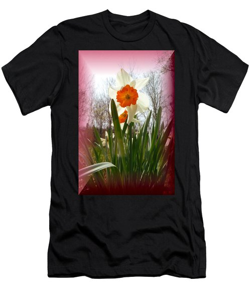 Who Planted Those Flowers Men's T-Shirt (Athletic Fit)