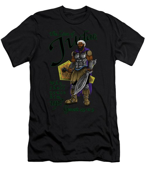 Who Shall Rouse Judah Men's T-Shirt (Athletic Fit)