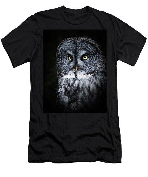 Whooo Are You Looking At? Men's T-Shirt (Athletic Fit)