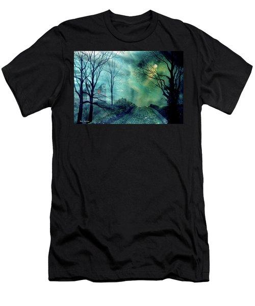 Whorlton Castle Men's T-Shirt (Athletic Fit)