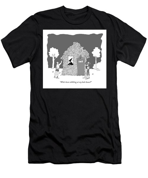 Who's Been Nibbling At My Kale House? Men's T-Shirt (Athletic Fit)