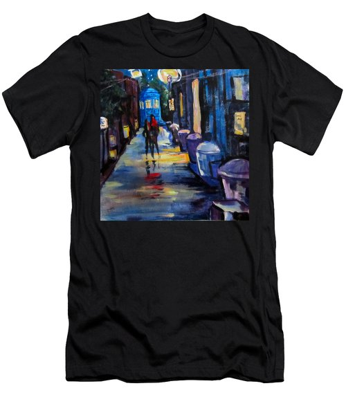 Who's Heading Back Men's T-Shirt (Slim Fit) by Barbara O'Toole