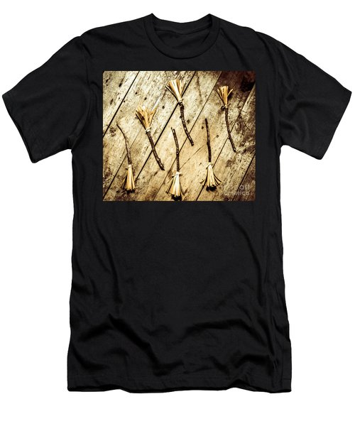 Wicked Witch Broomsticks Men's T-Shirt (Athletic Fit)