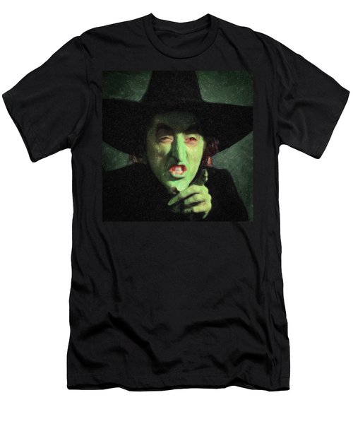 Wicked Witch Of The East Men's T-Shirt (Slim Fit) by Taylan Apukovska