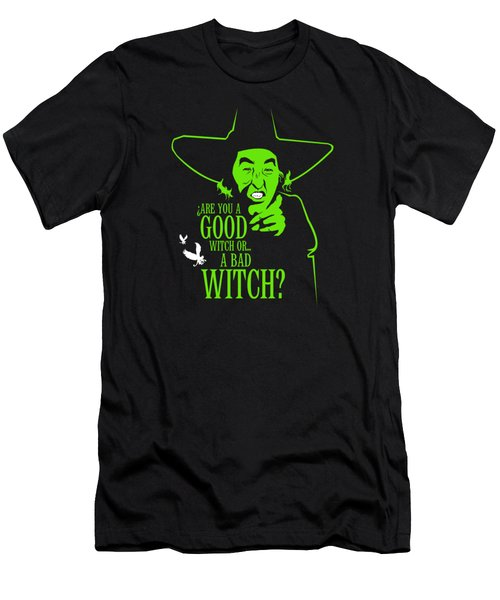 Wicked Witch Of West Men's T-Shirt (Slim Fit) by Mos Graphix